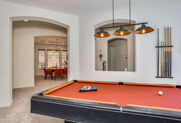 Billiards Room to Dining Room