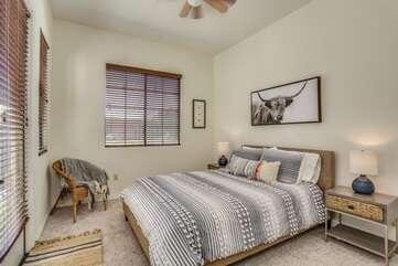 Casita Bedroom with Queen Bed