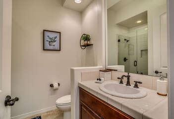 Casita Bathroom with Walk in shower