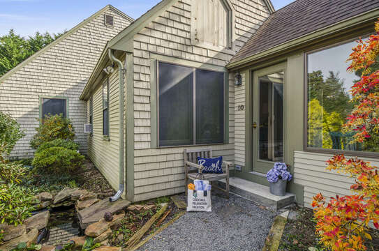 Breezy way entrance 50 Blue Heron Eastham Cape Cod - New England Vacation Rentals