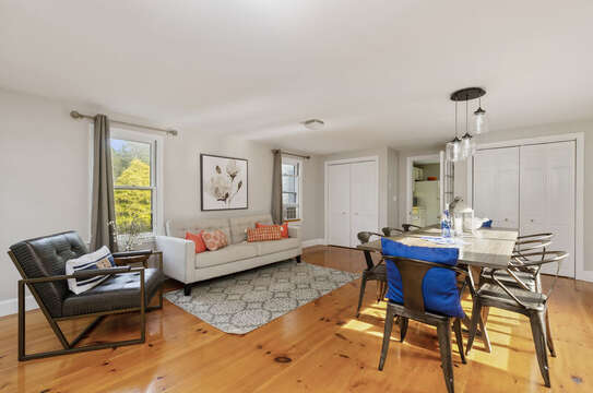 Combo Dining and living area 50 Blue Heron Eastham Cape Cod - New England Vacation Rentals