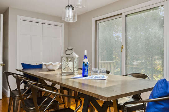 Dining for 6 50 Blue Heron Eastham Cape Cod - New England Vacation Rentals