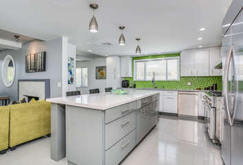 Completely Outfitted Kitchen