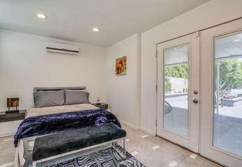Casita Bedroom with Patio Access