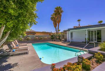 Large Sparkling Swimming Pool