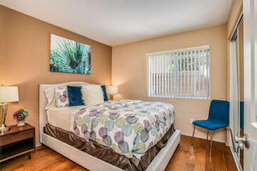 Guest Room One with Queen Bed