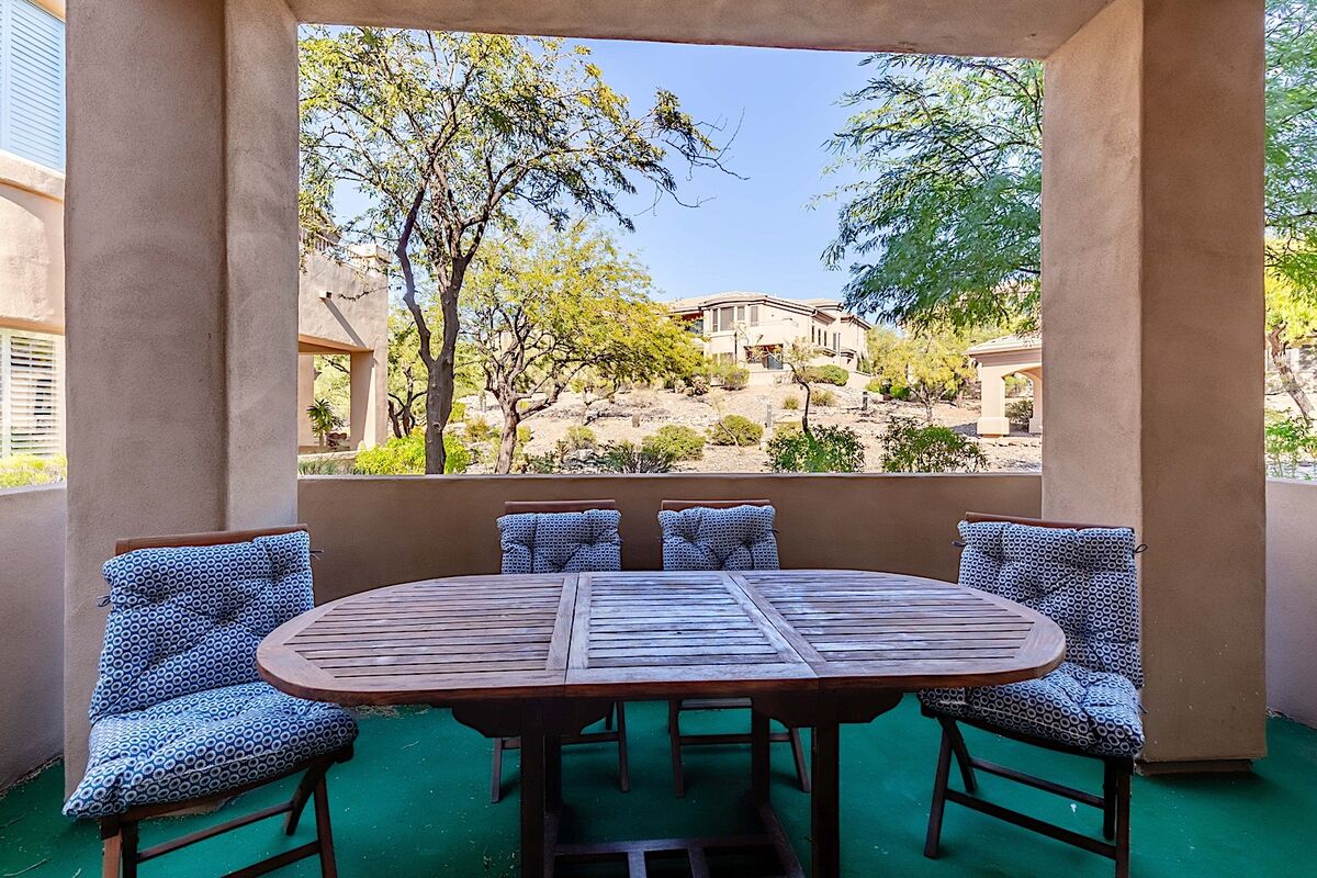 Enjoy the evenings out on your patio with great views of nature