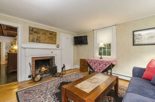 The den offers room for board games or just a quiet place to read a book! 60 Sisson Road Harwich Port Cape Cod New England Vacation Rentals