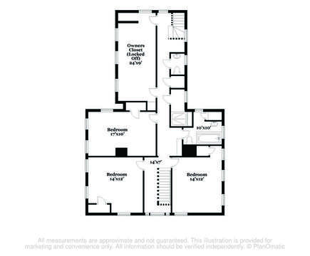 Floor plan level two-60 Sisson Road Harwich Port Cape Cod New England Vacation Rentals