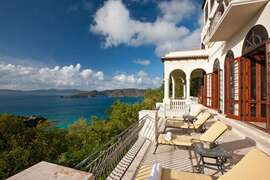 Amazing views of Peter Bay from Villa Nonna