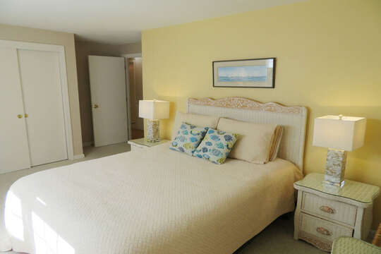 Bedroom #2 King bed ( or 2 Twins- you pick! )30 Chatham Crest Drive Chatham Cape Cod - New England Vacation Rentals