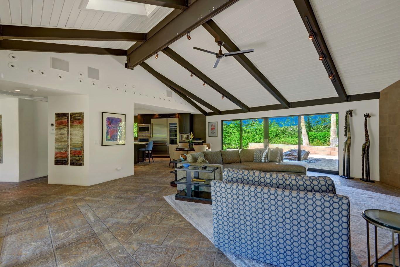 Living Room Reverse View