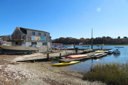 The Chatham Kayak Company right on the water at the end of the road rents all types of water crafts! Chatham Cape Cod - New England Vacation Rentals