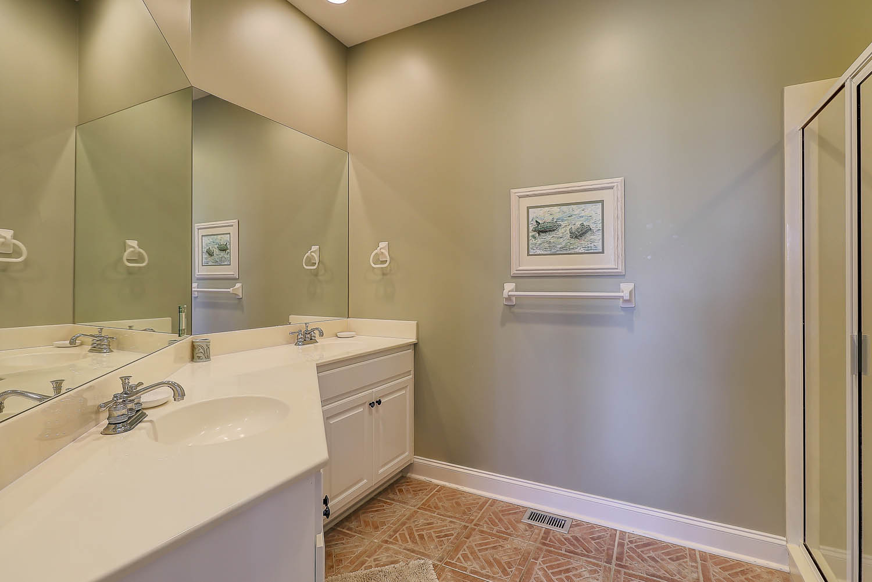 First floor king guest bathroom