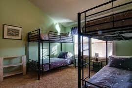 Bunk room upstairs