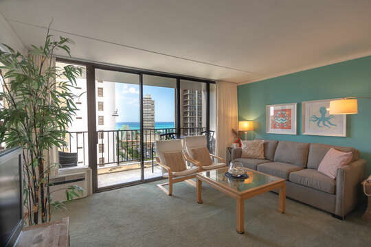 Enjoy incredible views right from your living area.