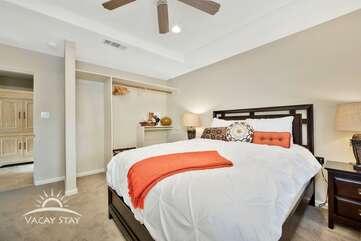 Bedroom 3 is next door to bedroom 2