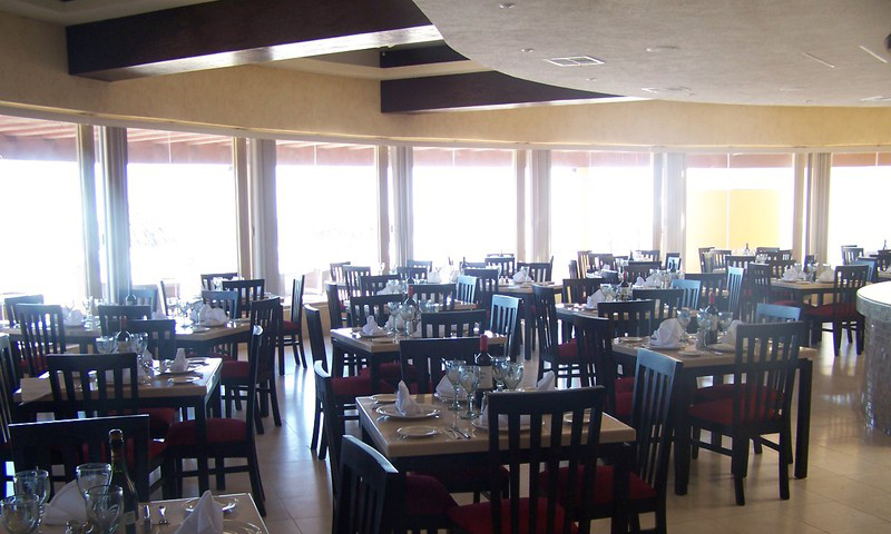 The Restaurant/ Dining Area.