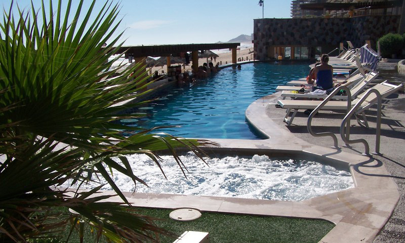 The Pool Area.