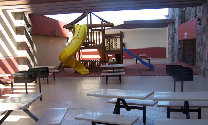 Children's Play Ground, on The 3rd Floor/Grills Area.