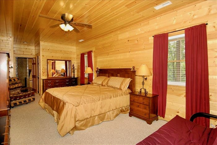 Bedroom with two nightstands