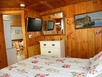 Bedroom 1 - Queen bed, Flat TV