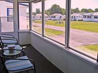 We have a screened in porch for you to enjoy the ocean breeze.