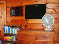 Bedroom 2 - Flat TV, games, books