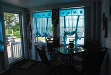 Enclosed Porch view from Living room