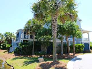 Behind it's own gate, it is in a one of Seabrook's newest neighborhoods.