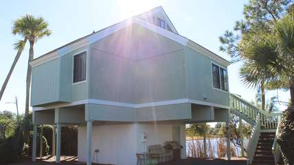 What a great location - close to the beach with a neighborhood pool too!