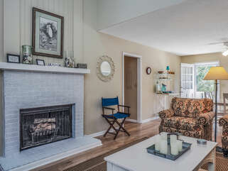 This open living area is perfect for gathering with your family and friends.