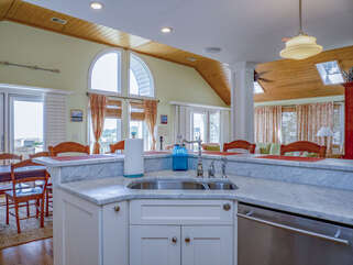 Bright and updated kitchen