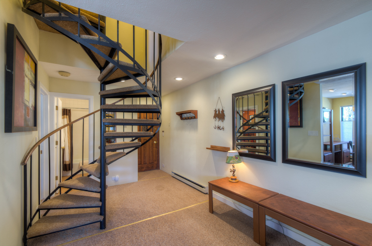 Spiral Stairs to the Master