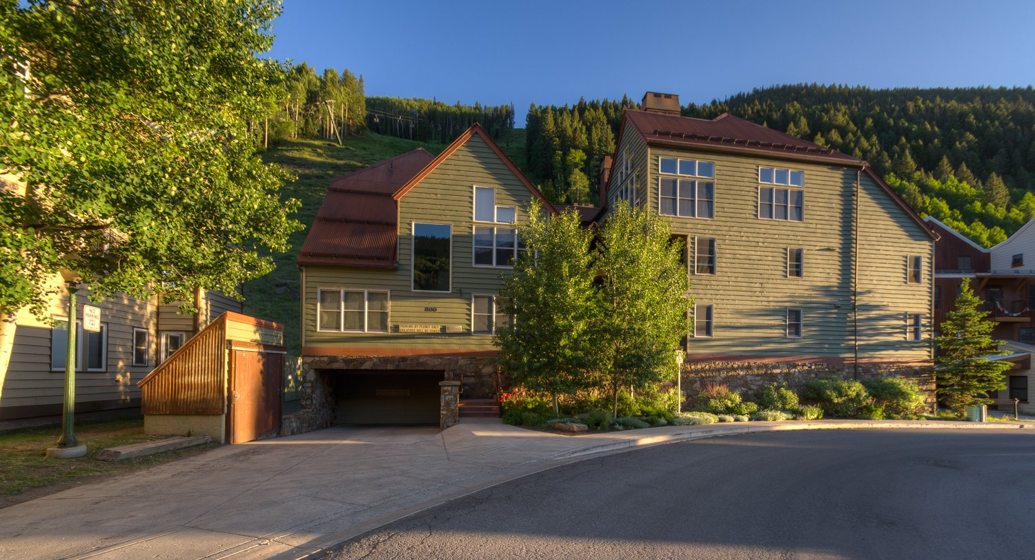 Front Picture of our Condo Rental in Telluride