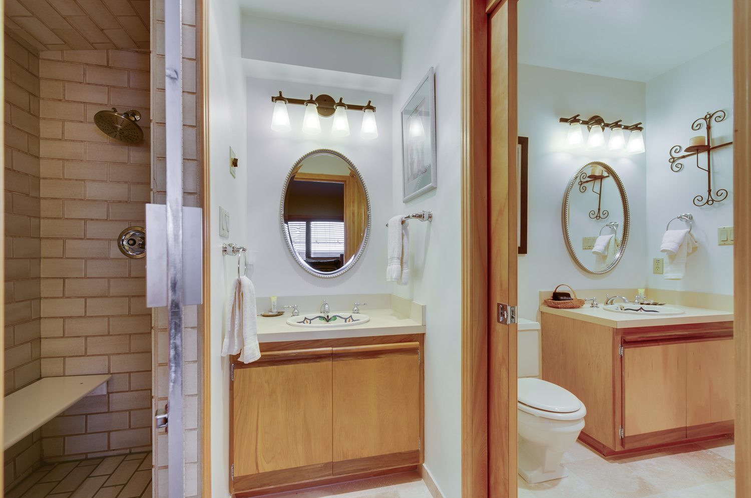 Full view of 2nd bathroom