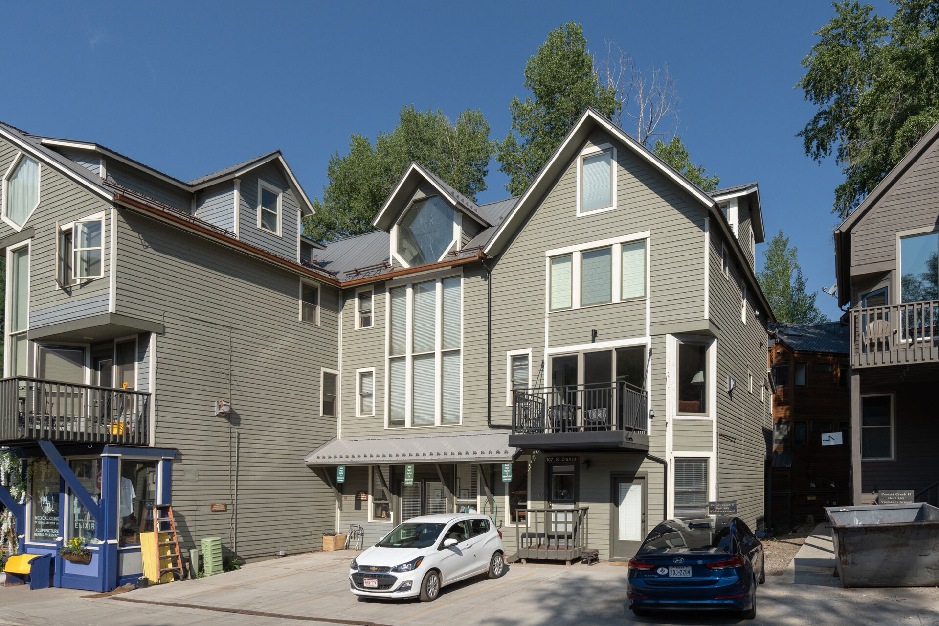 Front view of our Telluride condo rental