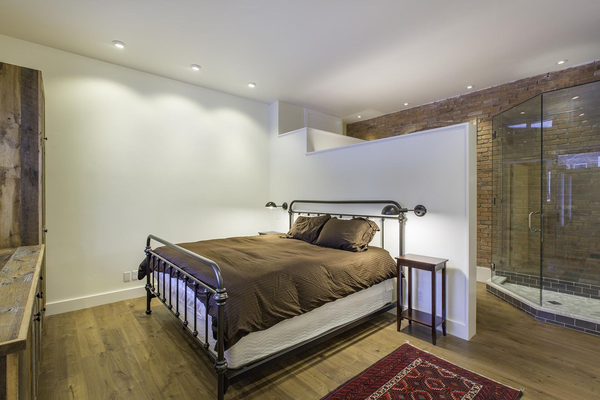 Fourth bedorom with a double bed