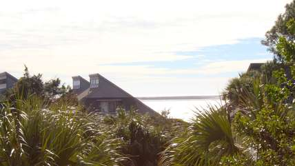 You will love the water views from the upstairs bedroom and deck.