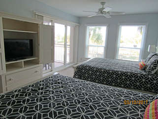 Enjoy the HDTV in the 2nd bedroom too!