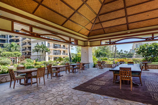 Owner's Lounge at the Beach Villas at Ko Olina.