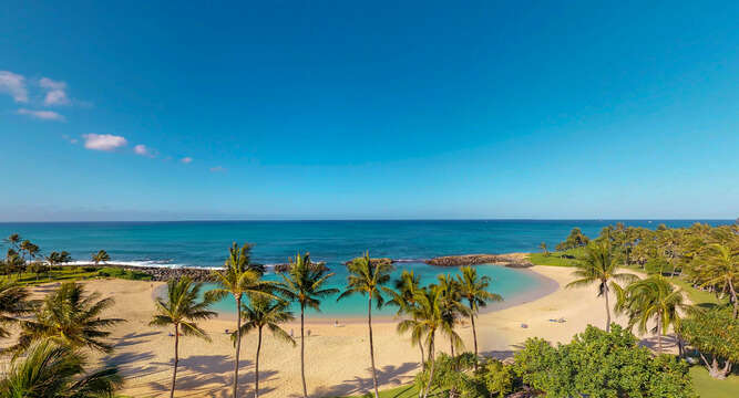 Breathtaking direct ocean view from your expansive lanai Outside Beach Villas BT-609