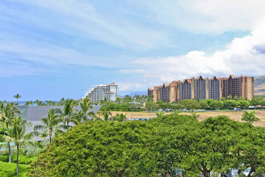 View Looking Toward Disney and Four Seasons from our Ko Olina Villa