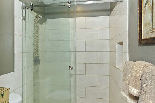 Custom Shower Enclosure in Master Bathroom