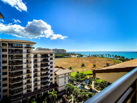Expansive Ocean Views from our Ko Olina Condo Rental Oahu.