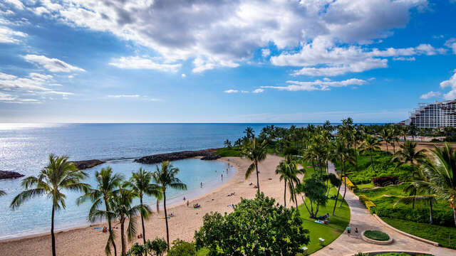 Yes, this Really is the View from Your Lanai, Looking West from our Ko Olina Condo Rental