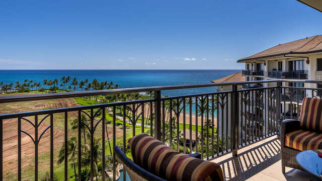 Lenai with View of Ocean and Skyline Outside Our Ko Olina Beach Rental