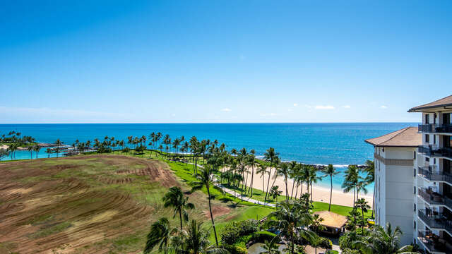 Lanai View, looking to the East of your Ko Olina Beach Rental