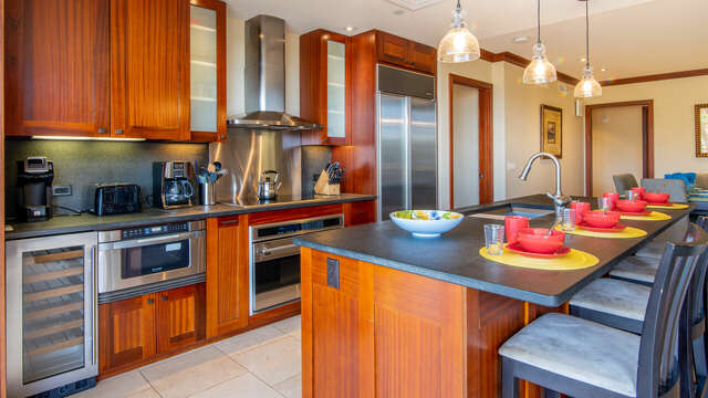 Beach Villas OT-210 with a Fully Equipped Kitchen