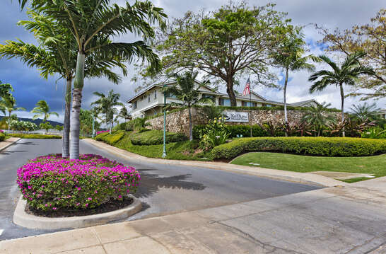 Entrance to The Hillside Villas at Ko Olina
